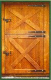 Standard Feature - Heavy Duty Dutch Door