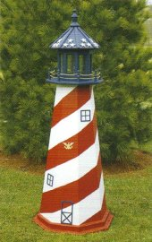 Lighthouse Patriotic USA