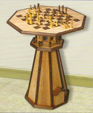 Lighthouse Checker Table
