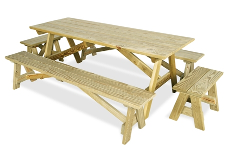 Outdoor Home Center - Outdoor Furniture - Picnic and Patio Tables