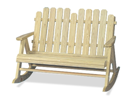 Picket Settee Rocker