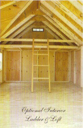 Optional Interior Ladder and Loft