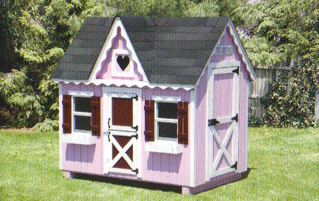 Playhouse 4x6 Dollhouse