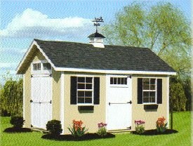 Wood Classic A-Frame Shed