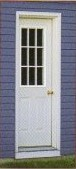 Options - Pre-Hung House Door