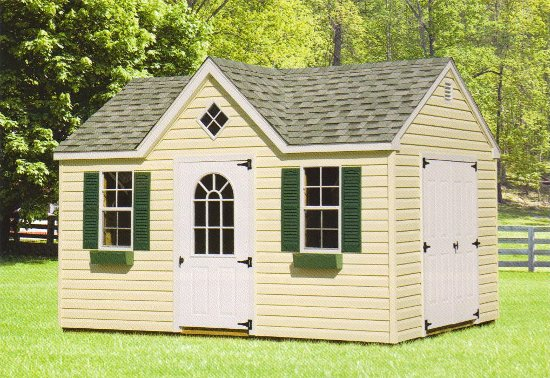 Outdoor Home Center Sheds Victorian Amp Hip Roof